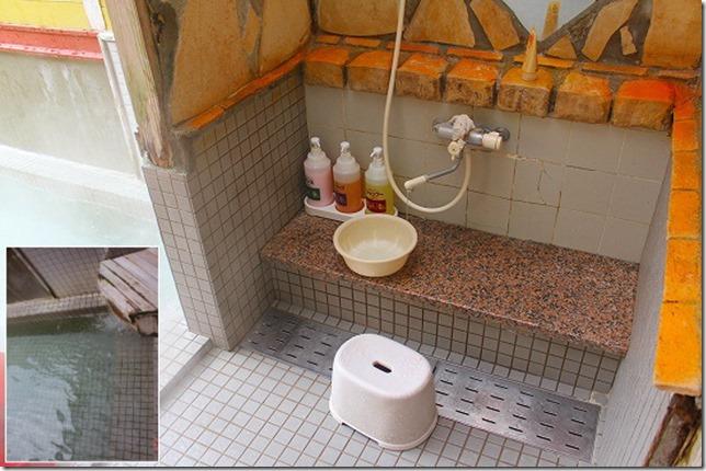 太宰府 都久志の湯の洗い場