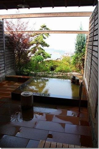筑紫野 天拝の郷 家族風呂の露天