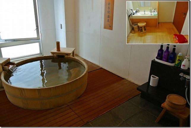 万葉の湯の家族風呂