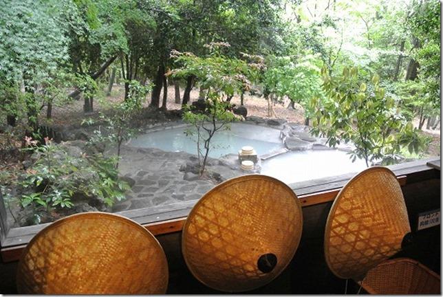 旅行人山荘の家族風呂