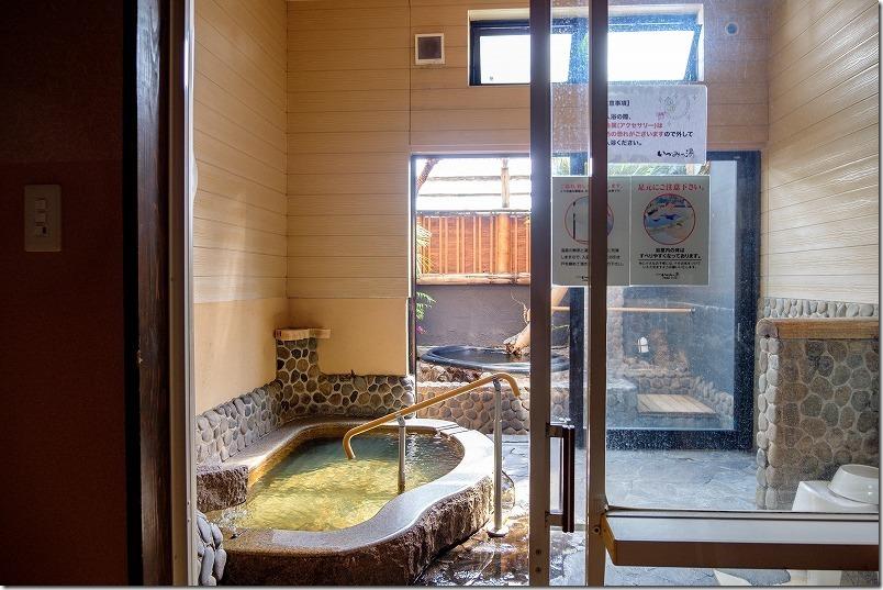 久留米いづみ乃湯の家族風呂、2400円の部屋