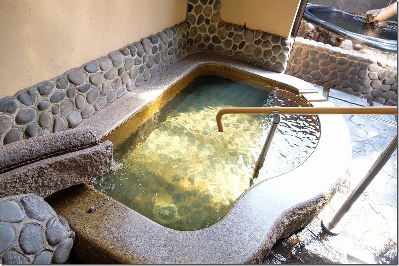 久留米いづみ乃湯の家族風呂、良い泉質